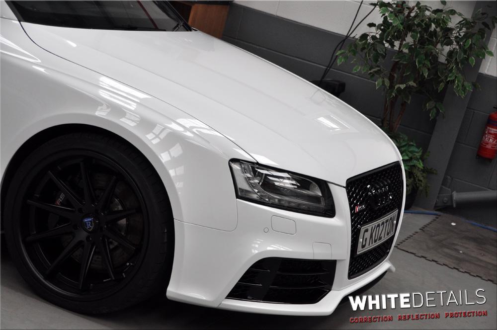 Audi Rs5 Portfolio White Details