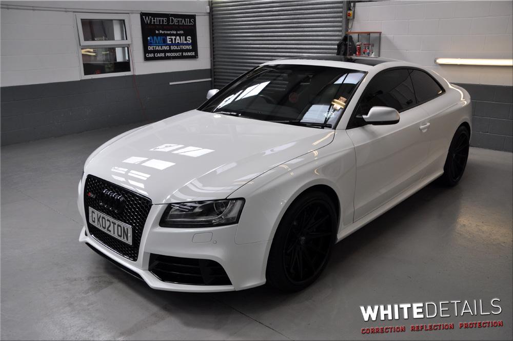 Audi RS5 - Portfolio - White Details